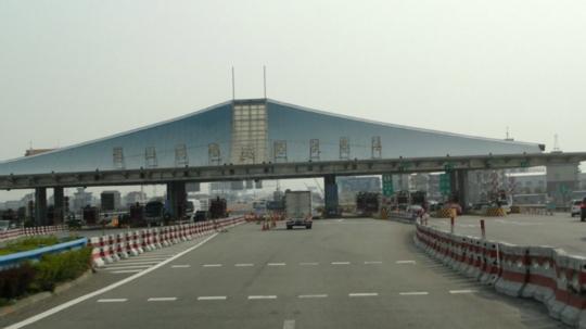 钢结构支座应用实例——杭州萧山机场收费
